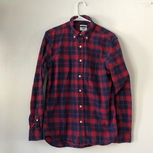 🥇3/$20 Old Navy Mens Plaid Button Down